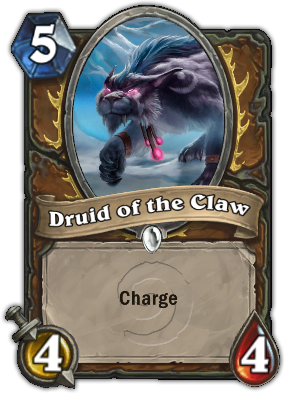 Druid of the Claw (Cat) Card