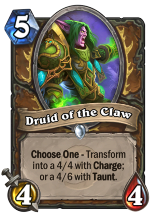 Druid of the Claw Card