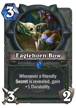 Eaglehorn Bow Card