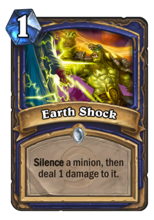 Earth Shock Card