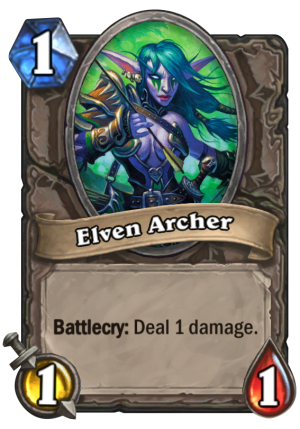 Elven Archer Card