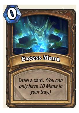 Excess Mana Card