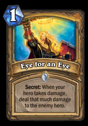 Eye for an Eye Card