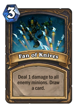 Fan of Knives Card