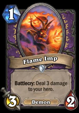 Flame Imp Card