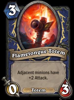 Flametongue Totem Card