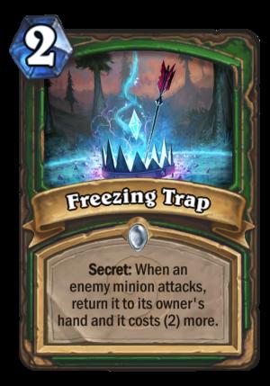 Freezing Trap Card