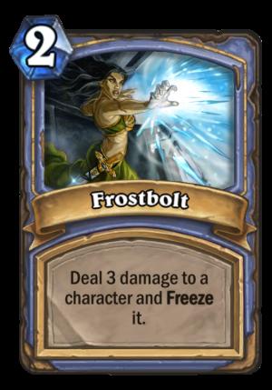 Frostbolt Card