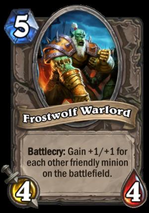 Frostwolf Warlord Card