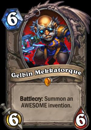 Gelbin Mekkatorque Card