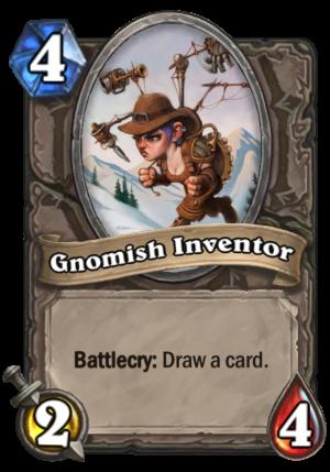 Gnomish Inventor Card