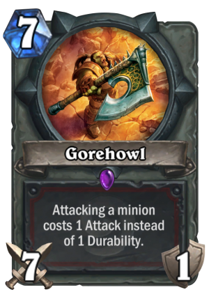 Gorehowl Card