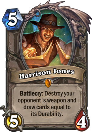 Harrison Jones Card