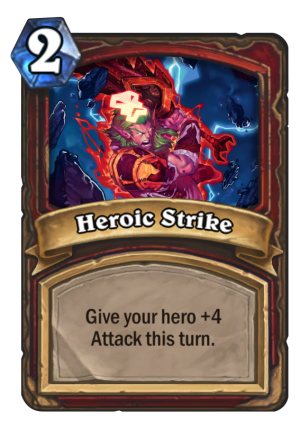 Heroic Strike Card