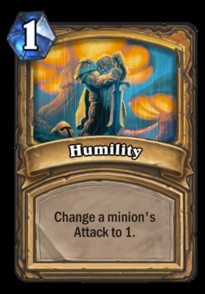 Humility Card