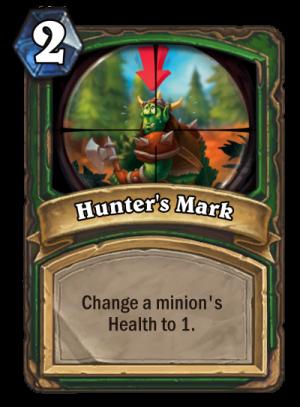 Hunter's Mark Card