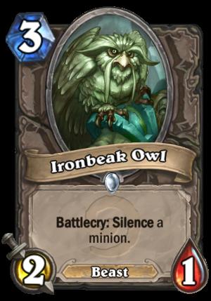 Ironbeak Owl Card
