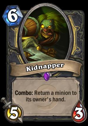 Kidnapper Card