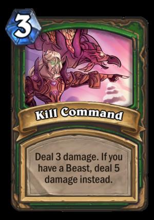 Kill Command Card