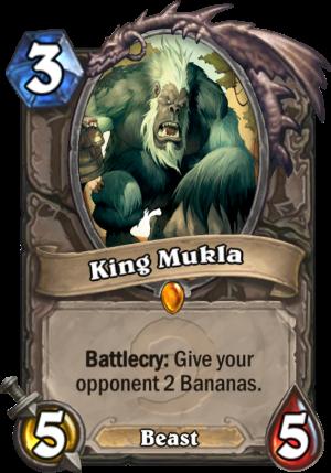 King Mukla Card