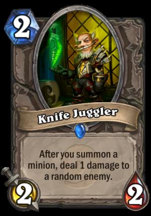 Knife Juggler Card