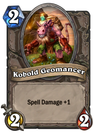Kobold Geomancer Card