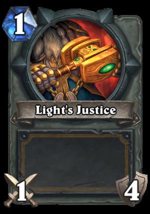 Light's Justice Card