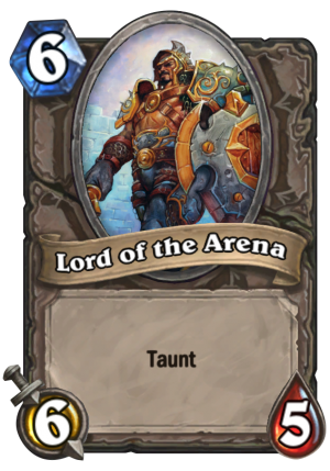 Lord of the Arena Card