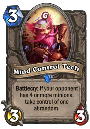 Mind Control Tech Card