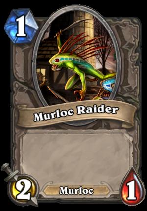 Murloc Raider Card