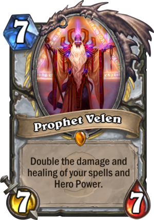 Prophet Velen Card