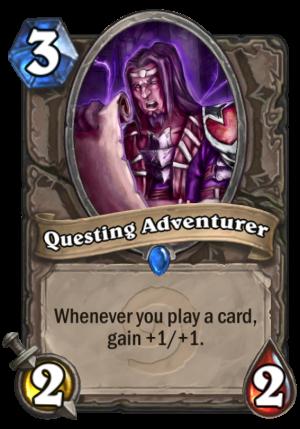 Questing Adventurer Card