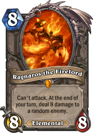 Ragnaros the Firelord Card