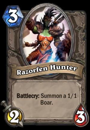 Razorfen Hunter Card