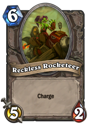 Reckless Rocketeer Card