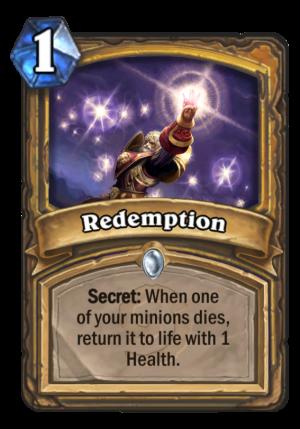 Redemption Card