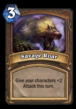Savage Roar Card