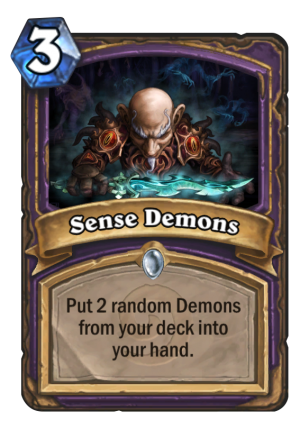 Sense Demons Card
