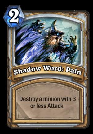 Shadow Word: Pain Card