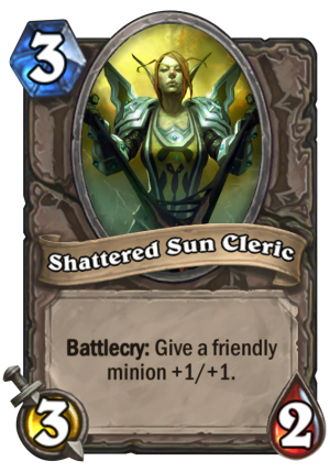Shattered Sun Cleric Card