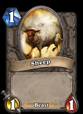 Sheep Card