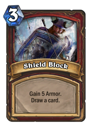 Shield Block Card