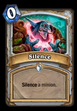 Silence Card