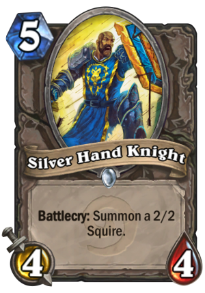 Silver Hand Knight Card