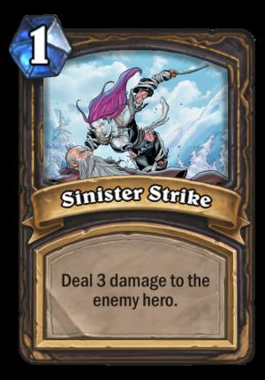 Sinister Strike Card