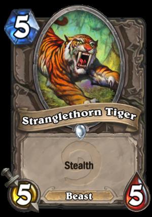 Stranglethorn Tiger Card