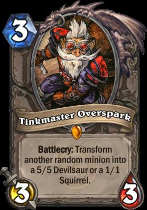 Tinkmaster Overspark Card