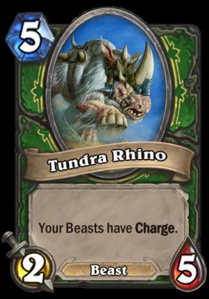 Tundra Rhino Card
