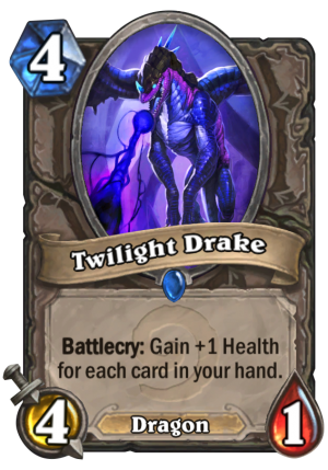 Twilight Drake Card