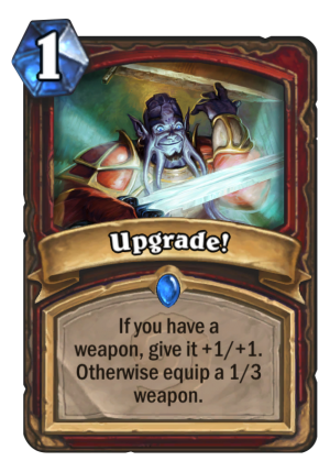 Upgrade! Card